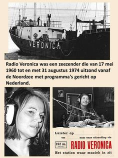 Radios, Veronica, Old Time Radio, Do You Remember, Long Time Ago, Pirates, Holland, The Past, Childhood