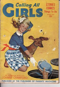 Calling All Girls - March 1960