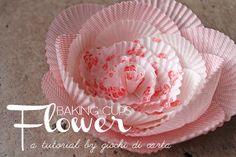 DIY: Baking Cup Flowers