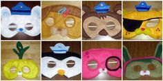 Spotlight on Geek Crafts: The Octonauts - the boy would go nuts for these!
