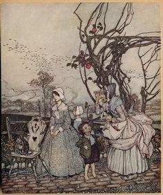 Arthur rackham Rip van winkle 1904