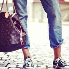 Louis Vuitton + Converse