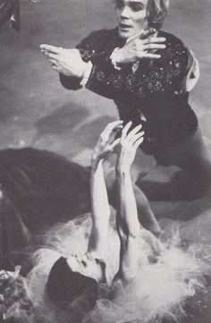 Carla Fracci and Vladimir Vasiliev in Giselle, Roma Opera House 1971