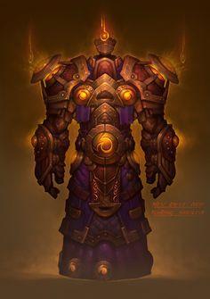 Paladin Tier 8 Concept Art Photo by World Of Warcraft Game, World Of Warcraft Characters, Warcraft Art, Character Concept, Character Art, Character Design, Alien Concept, Concept Art, Fire Giants