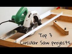 Top 3 Circular Saw Projects || 3 Best Circular Saw Ideas - YouTube Circular Saw Table, Circular Saw Jig, Best Circular Saw, Carpentry Tools, Router Woodworking, Woodworking Techniques, Drip Irrigation System Design, Diy Projects Plans, Cnc Cutting Design