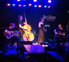 Plovdiv's Bee Bop Café is a magnet for exceptional jazz, and last night's performance by London-based Coco 'n' the Fellas was no exception.