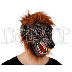 Máscara de Lobo para niño - Dresoop.es