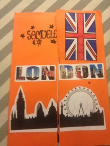 Lapbook London - MaestraMarta English Primary School, Teaching English, English Writing, English Projects, English Lessons, English Time, Learn English, Social Studies Notebook, English Exercises