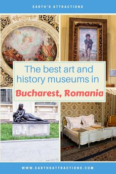 The best art and history museums in Bucharest, Romania recommended by a local. If you like #art and #history, then you should definitely include these #musums on your #travel #itinerary for #Bucharest, #Romania, #Europe