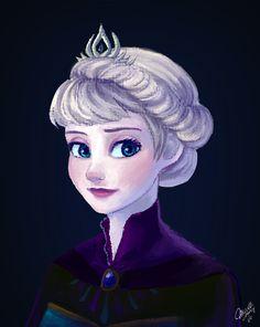 Elsa by mewDoubled