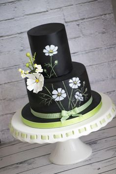 Cosmos flowers cake - Cake by Vanilla