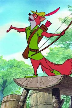 Day 1 Disney challenge (favorite Disney movie): Almost chose The Lion King, but in the end I felt good about Robin Hood.as a kid I thought Robin Hood was very dashing, and I loved all the other animals :) Disney Amor, Disney Love, Disney Magic, Disney Style, Disney Animation, Animation Film, Robin Hood 1973, Robin Hood Cartoon, Home Bild