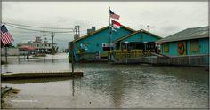 Extra high tides photo by Vicki Burton