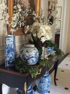 Blue & White, The Enchanted Home Blog