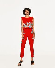 TROUSERS WITH PRINTED SIDES-NEW IN-WOMAN | ZARA United Kingdom