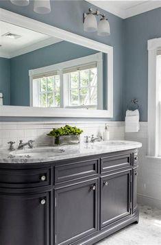 Bathroom color schemes gray bathroom colors blue bathroom colors small bathroom color scheme ideas no matter what color scheme bathroom color schemes brown Bathroom Colors Gray, Bathroom Color Schemes, Grey Bathrooms, Modern Bathroom, Bathroom Ideas, Master Bathroom, Bathroom Designs, Blue Bathroom Paint, Bathroom Renovations