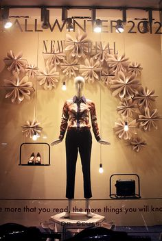 fall window displays - Google Search