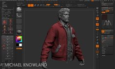 Zbrush Character Modeling for The Last of Us