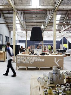 What is not to love about this motto?!  And a company that proudly displays it across the front counter for all to see. From Sydney based furniture company Koskela.