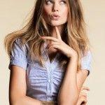 Behati Prinsloo Stylish Hairstyle Fashion 2013