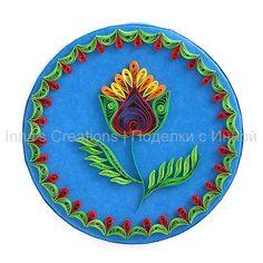Box decorated with a traditional Opishnyansky (Ukraine) painting motif: Inna Dorman, Inna's Creations, flickr