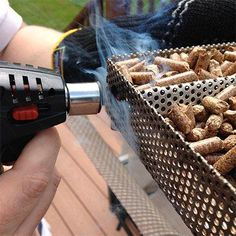 The secrets of how to use the Masterbuilt Electric Smoker (MES) and the A-Maze-N Pellet Smoker (AMNPS) to make perfect BBQ every time! Wood Pellets, Smoker Grill Recipes, Grilling Recipes, Masterbuilt Electric Smokers, Homemade Smoker, Wood Fired Oven, Smoking Meat, Outdoor Cooking