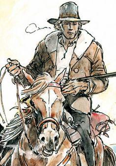 Ken Parker torna in edicola, Luca Raffaelli ce ne parla Ken Parker, Westerns, Western Comics, West Art, Pulp Magazine, Cowboy Art, Drawing Reference Poses, Le Far West, Fun Comics