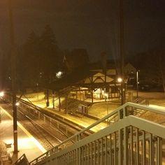 Estacion de tren en las afuera de philaderfia
