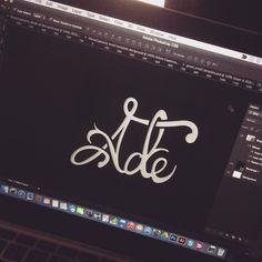 """""""Ade"""" logo design"""