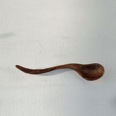 Finely Hand Crafted Cherry Wood Wiggle Spoon by NHwoodcraft