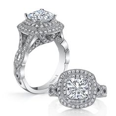 Marry me.....    Unique diamond engagement rings    http://ow.ly/eyXsr