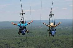 Zip Line in the Pocono Mountains | Adventure Parks