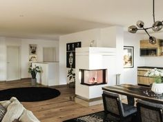 Herd, Home Decor, Contemporary Fireplaces, Tiling, Contemporary Design, Full Bath, Products, Decoration Home, Room Decor