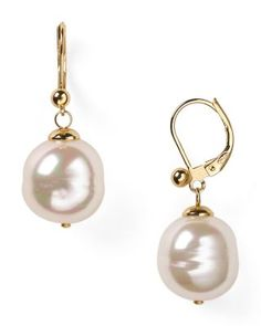 Majorica Baroque Simulated Pearl Drop Earrings | Bloomingdale's
