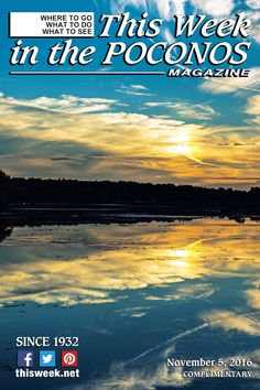 November 5, 2016 Cover photo: Indian Mountain Lake by Jack Robieniek, SkyTop Photo and Video