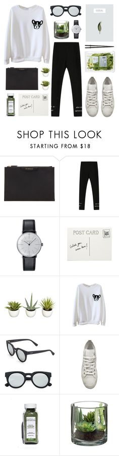 """bh 14"" by jesicacecillia ❤ liked on Polyvore featuring mode, Givenchy, Junghans, Quay et Ann Demeulemeester"