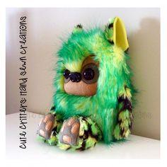 $58.50 Rex Yeticub by CuteCritters on Handmade Australia