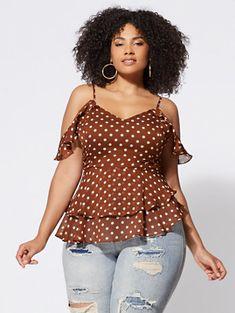 Stylish Plus-Size Fashion Ideas – Designer Fashion Tips Plus Zise, Mode Plus, Looks Plus Size, Plus Size Tops, Plus Size Style, Plus Size Casual, Plus Size Dresses, Plus Size Outfits, Plus Size Summer Clothes