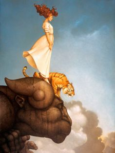 Michael Parkes - never doubt the power of a redhead! haha