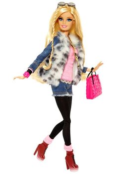 Barbie Style™ - Barbie® Doll (Faux Fur Jacket) | Barbie Collector: