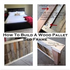 How To Build A Wood Pallet Bed Frame Project | The Homestead Survival