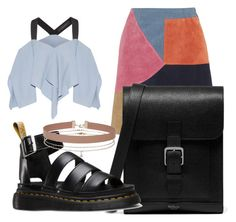 """""""MY STYLE"""" by ilseok on Polyvore featuring M.i.h Jeans, Roland Mouret, Mulberry, Dr. Martens and Miss Selfridge"""