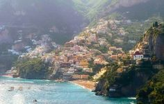 A beautiful sunny morning in Positano.