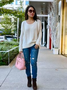 Alice & Olivia Mixed Stitch Sweater
