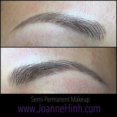 hair stroke eyebrows permanent makeup - Google Search