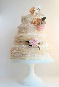Pastel De Almendra Wedding Cake