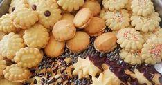 VEELSYDIGE KOEKIEMENGSEL (Kan koekie drukker gebruik) 250g botter 1/2 k klapper olie 1/2 k kookolie 1 k maizena 1 k versiersuik... No Carb Dinner Recipes, Meat Recipes, Cookie Recipes, Dessert Recipes, Recipies, Biscuit Cookies, Biscuit Recipe, Cake Cookies, Tray Bakes