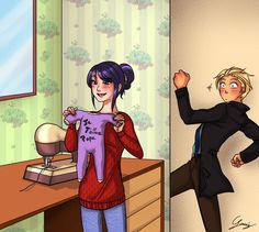 30 days challenge - Miraculous Ladybug 30 by x-Lilou-chan-x on DeviantArt