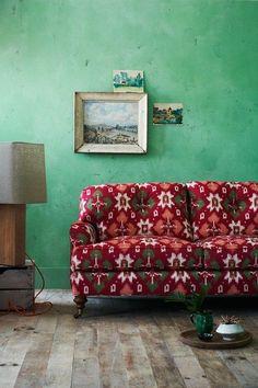 Bold & Bohemian - Living Room Ideas, Furniture & Designs - Decorating Ideas (houseandgarden.co.uk)
