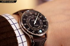 MeisterSinger Pangaea Day Date #men #watch